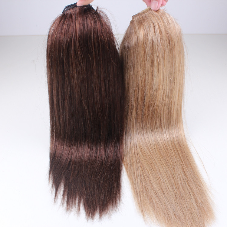 Wholesale New Fashion Bun Cover Ponytail Human Hair Extension From