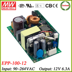 Meanwell 12v switching model power supply EPP-100-12