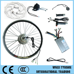 "2015 New Electric Bicycle Conversion Kit 26"" Bike Front Motor Wheel 24V 350W"