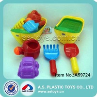 outdoor fun child playset 6 pieces sand beach molds beach boat with shovels