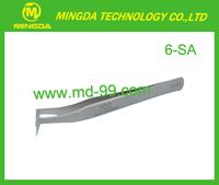 ESD Stainless Steel Vetus Tweezers / 6-SA ESD Tweezers With Bent Nose