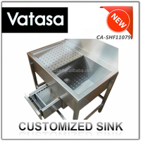 2015 Vatasa Wholesale Stainless Steel Cheap Sink Base Cabinet
