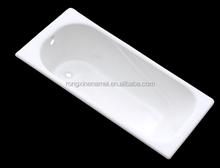 varied bathtub size enamel steel bathtub with legs hot selling item