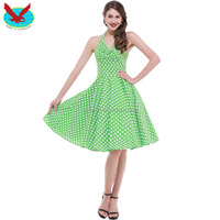 Pinup Swing Evening Party Rockabilly 50S Vintage Dress