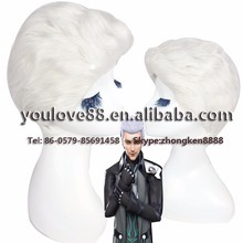 alibaba china yiwu city wholesale synthetic full lace wigs short white cosplay wig