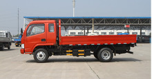 Chinese 5 ton mini truck 4x4 and 4x2 diesel light cargo truck