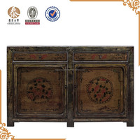 Chinese Antique furniture Reproduction Hand Painted Sideboard