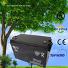 Sealed battery for solar power rechargeable 12v ups battery with 100ah