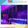 China supplier Color DMX Stage Effect remoteled control RGB Led Star Curtain