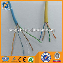 23AWG Copper/CCAG/CCA/CSS CAT 6 Ethernet Cable With Very Low Factory Price
