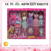 Abbie High Quality Dress-up Girl Baby Doll House