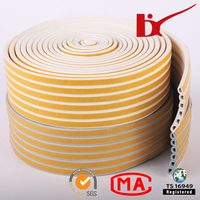 sponge heat resistance adhesive rubber seal strip / adhesive backed rubber door seal