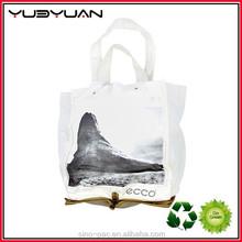 China Wholesale New Design Eco-friendly printed Folding Canvas Shopping Bag