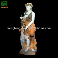 Colorful Marble Figure for Garden