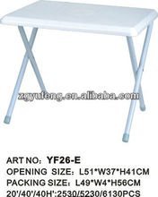plastic camp table,folding table