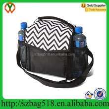 Large Insulated Lunch Soft Bottle Tote travel wine cooler bag