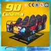 Hydraulic system 5d cinema simulator 8d cinema system