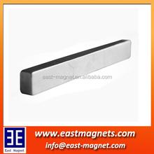 48H bar ndfeb magnet/neodymium magnet custom made factory/long stick magnet bar strong magnet for industry