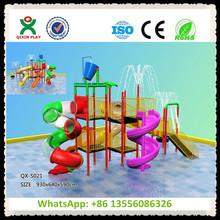 Crianças equipamentos de parque aquático para Resort / brincando na agua equipamento usado piscina de slides