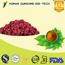 Chinese Liver-protecting herb medicine schisandra chinensis p.e/ 1%2%3% schizandrin schisandra extract
