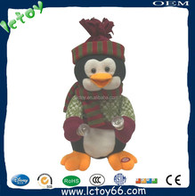 plush animal sex duck minion toys with christmas hat
