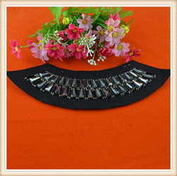 New beaded neck design trim for kurtis churidar women dress garments wedding dress on sale