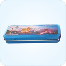 Size:141x51x23mm glasses box/spectacles tin box/pencil case