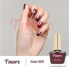 natural nail polish no label for OEM, peel off, water based, no smell