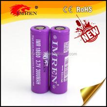 Wholesale vape mods 18650 3000mAH 40a /imren 18650 3.7V batteries imren 40 amp 18650 battery