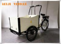 Aluminum alloy family use shopping body open three wheel cargo motorcycles