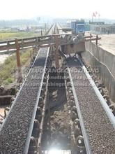 Conveyor belt for sand, conveyor belt stone crusher plant