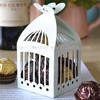 "Wedding paper box for candy! laser cut light blue ""birdcage"" favor boxes bomboniere box"