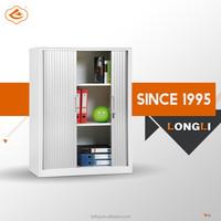 High quality rolled steel tambour door steel office shutter cabinet