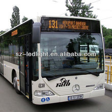 programmable led moving message bus sign