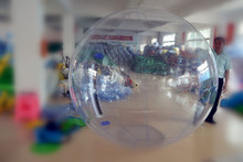 Inflatable transparent Water Walking Ball with Reinforced Soft Handle CE EN15649
