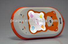 slim and small mobile phone without screen, simple function easy to use kids mobile phone with sos call button