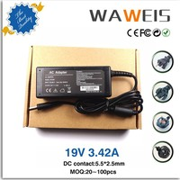 universal 19v power adapter 19v 3.42a 5.5*2.5 for 90w wholesale laptop protable charger