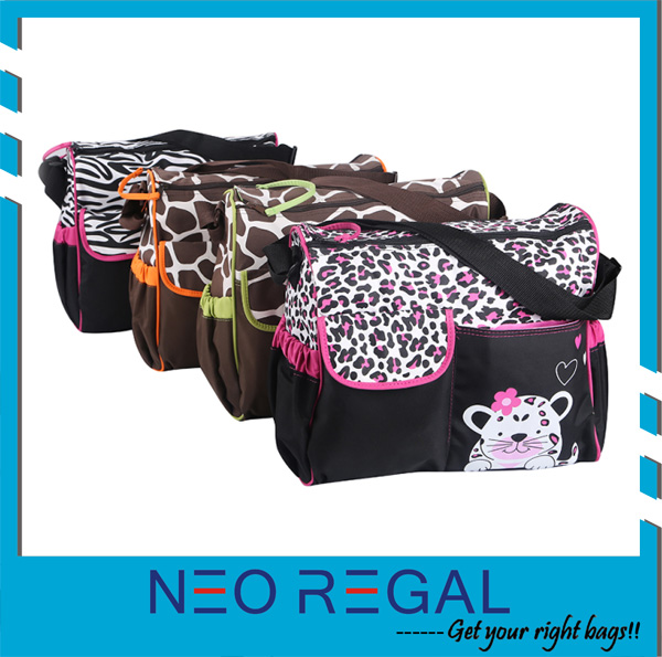2015 Animal Mummy Bag,Baby Diaper Bag,Baby Nappy Bag