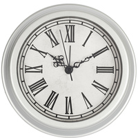 6 inch wall & table 2-in-1 clock with vintage design