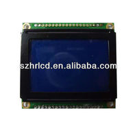 128x64 Dot Graphic LCD Display Module with Wide Operating Temperature and KS0108 Controller