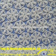 yjc16054 química novo projeto do bordado tecido de tule