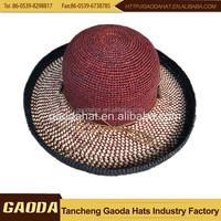 China supplier madagascar raffia hats