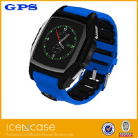 2015 newest design low cost waterproof android and ios watch phone with manual