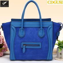 Hot Sale Women Fashion Smile Handbag Nubuck Leather Messenger Bags Classic Casual Desigual Shoulder Bag