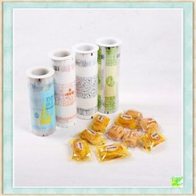 Automatic laminated packaging roll film