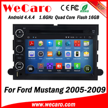 Wecaro WC-FU7302 Android 4.4.4 car dvd player 2 din for ford mustang dash 2005 - 2009 TV tuner