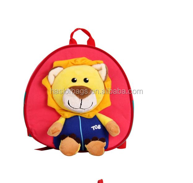 Mignon nouveau design cartoon sac à dos pour enfants