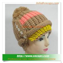 Stylish Free Knit Pattern For Hat Earflaps