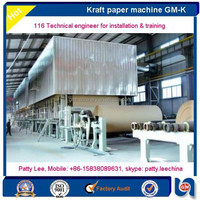 Successfully running waste paper recycling kraft paper making production line