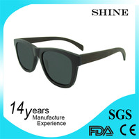 CE FSC FDA Approval shining handmade wooden sunglasses